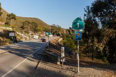 Auf dem Highway 1 bei Gorda