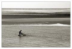 Auf dem Kniep (8): der Fischer ...
