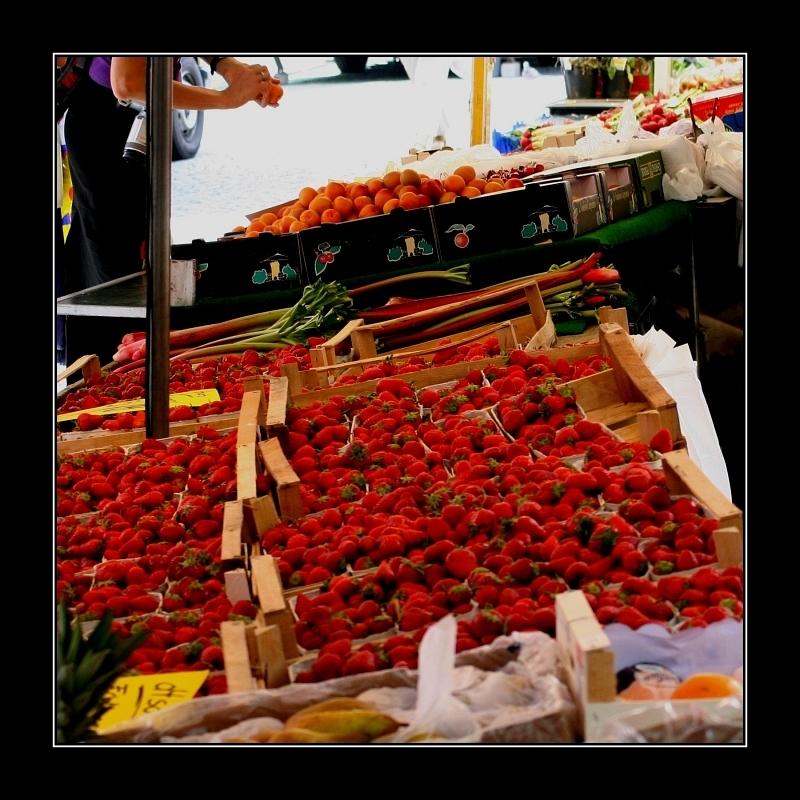 Auf dem Markt -at the market