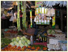 Auf dem Markt in Pilar