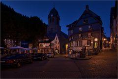 Auf dem Marktplatz von Monschau