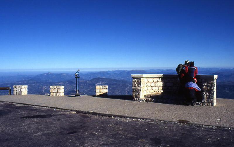 Auf dem Mont Ventoux