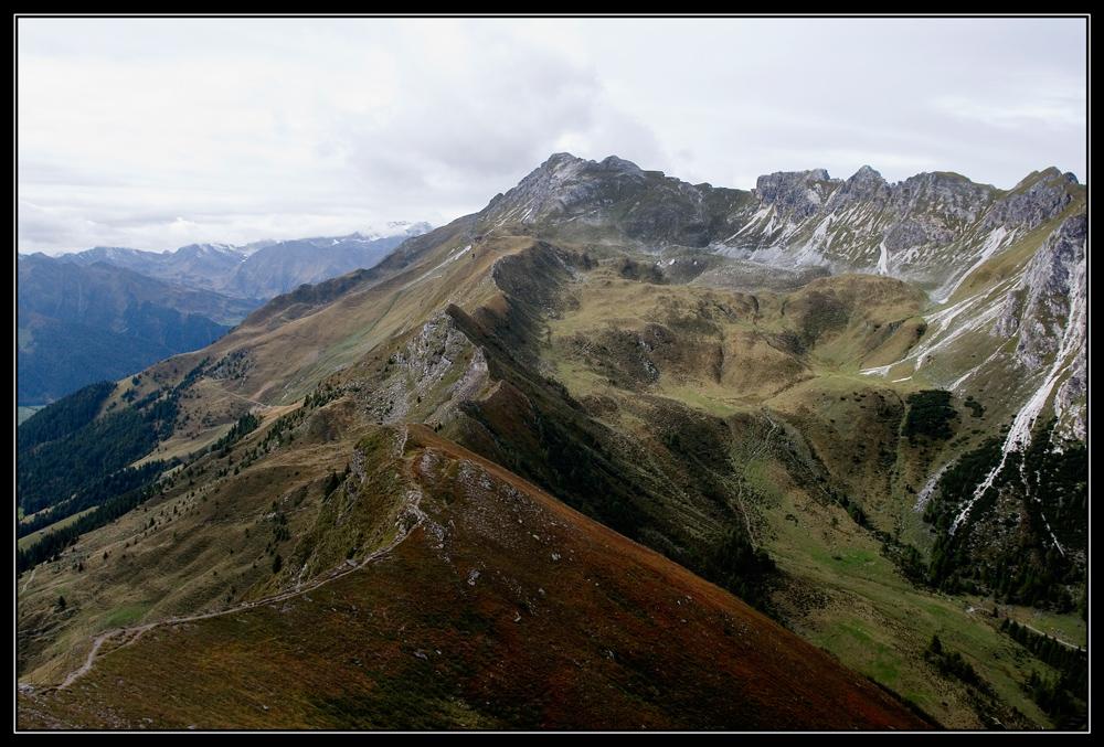 Auf dem Monte Cavallo / Roßkopf (2.189 Meter)