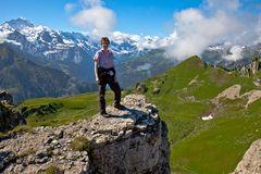 Auf dem Oberberghorn 2069 m