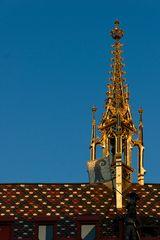 Auf dem Rathausdach