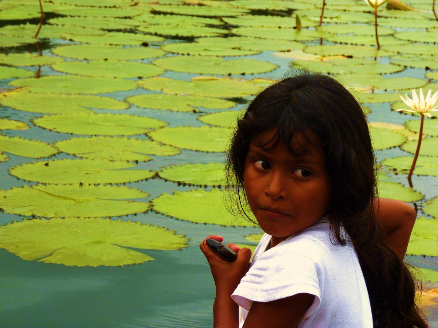 Auf dem Rio Dulce