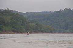 Auf dem Rio Usumacinta