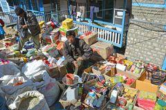 Auf dem Samstagsmarkt in Namche Bazar