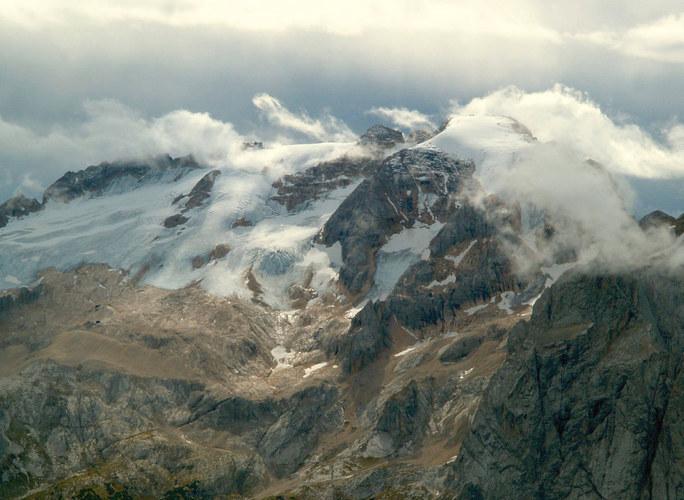 Auf dem Sass Pordoi - m 2950 - Dolomiten