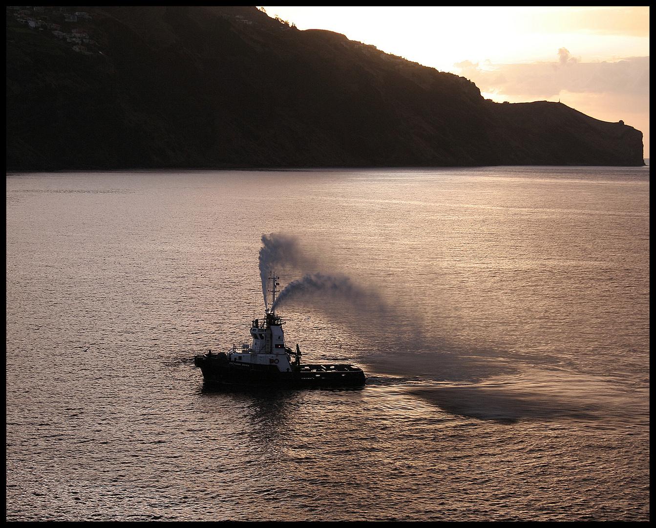 Auf dem Seeweg nach Madeira