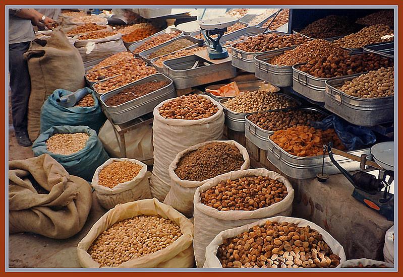 Auf dem Sonntagsmarkt in Kashgar, Xinjiang China