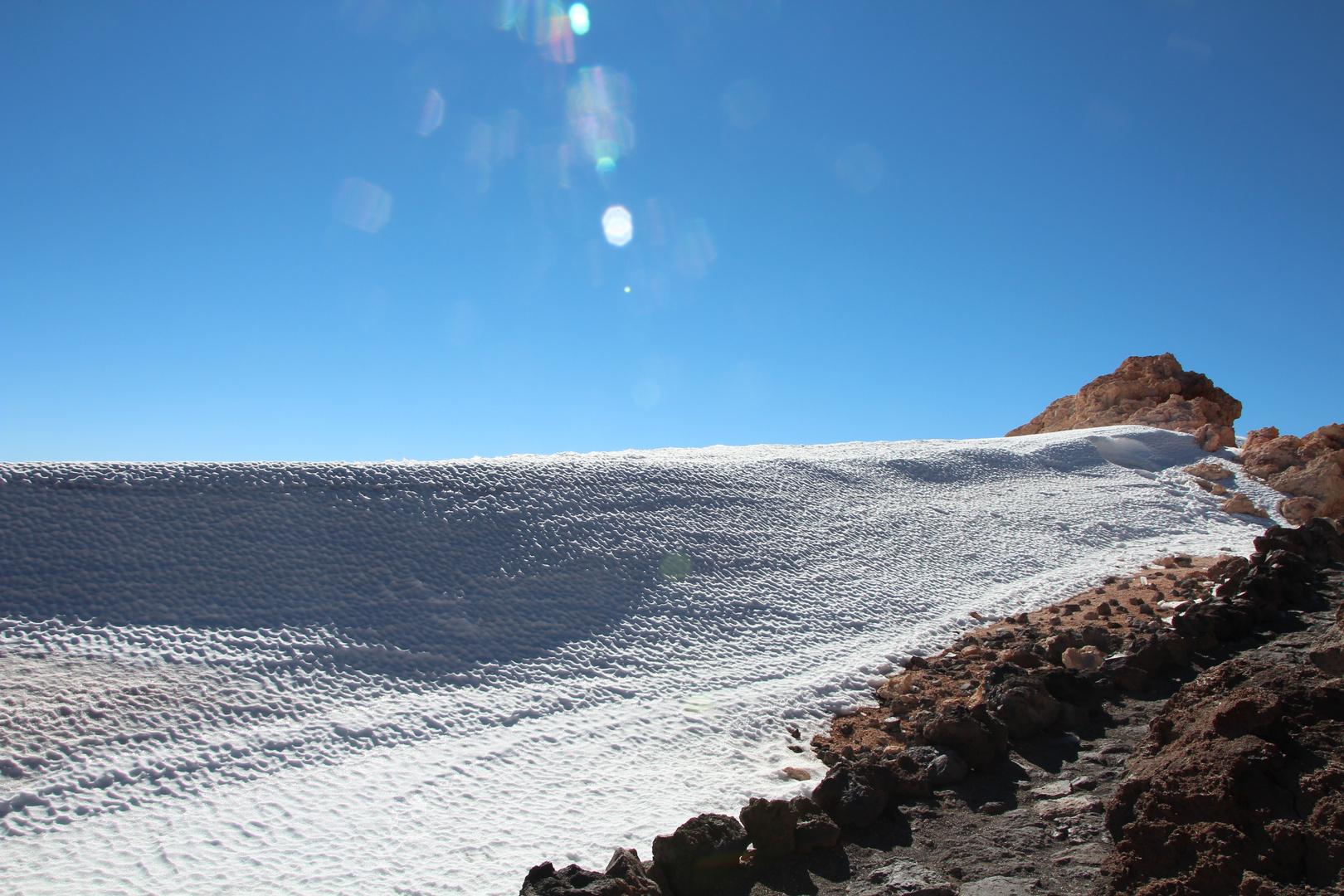 Auf dem Teide - Februar 2014