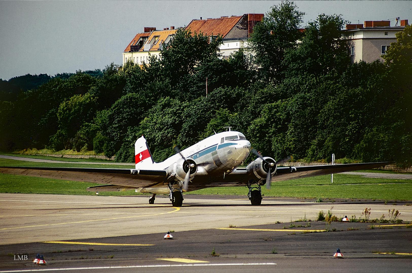 Auf dem Tempelhofer Flugfeld