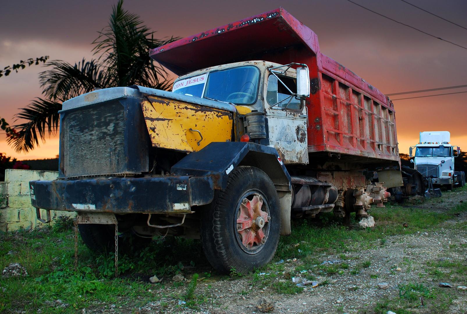 Auf dem Truckfriedhof