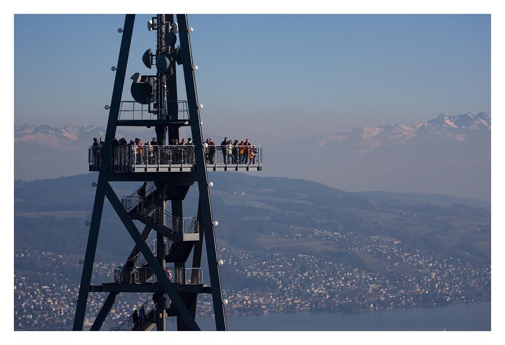 auf dem Üetlibergturm
