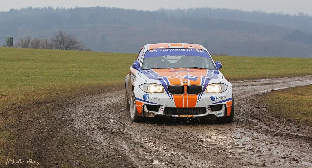 Auf dem Vogelsberg ist wieder Rallye