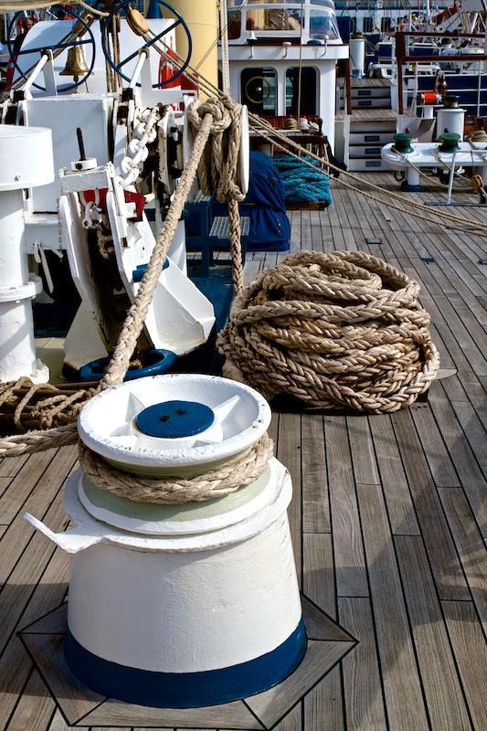 - auf dem Vorschiff -