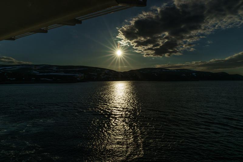 Auf dem Weg in die Barents-See