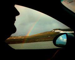 Auf dem Weg ins Regenbogenland...