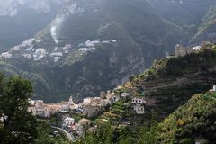 Auf dem Weg nach Amalfi