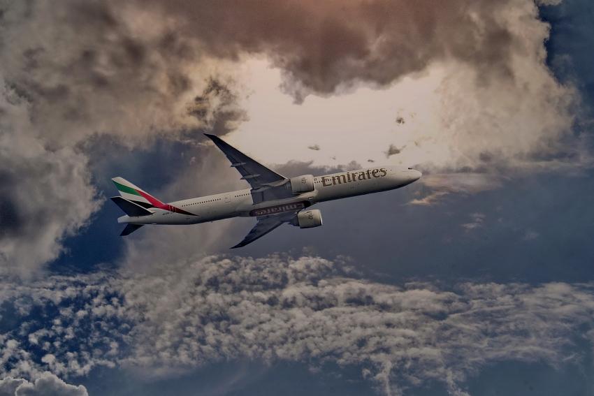 Auf dem Weg nach Dubai.