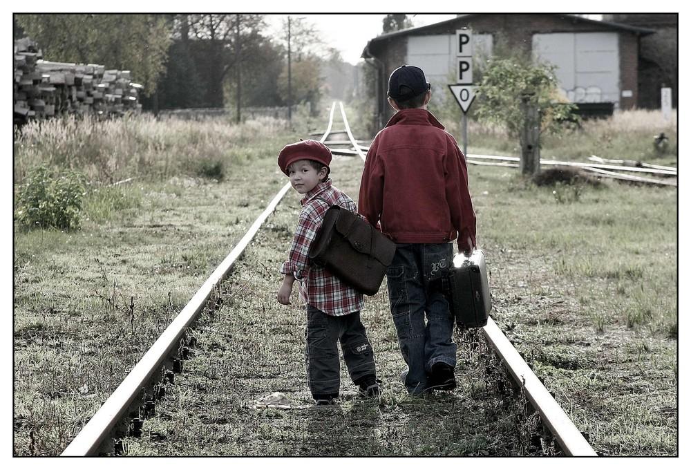 Auf dem Weg nach Irgendwo