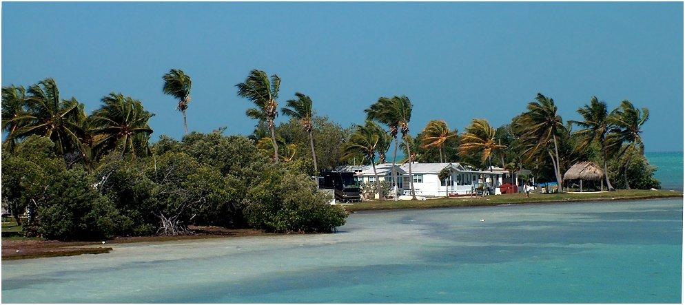 Auf dem Weg nach Key West........