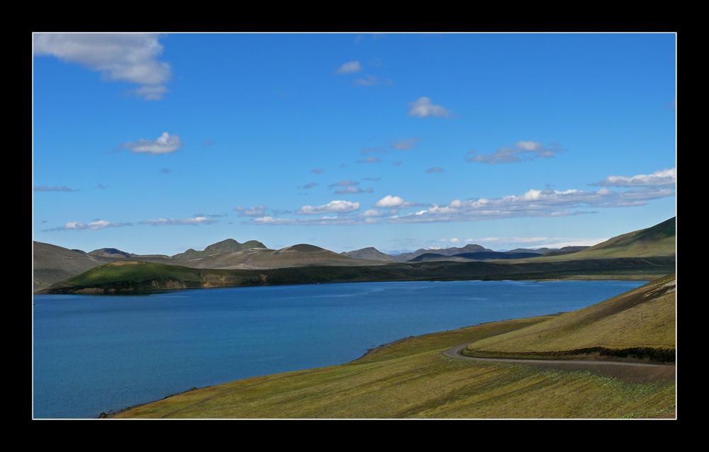 Auf dem Weg nach Landmannalaugar