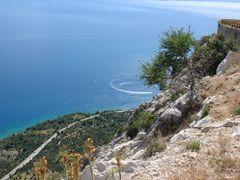 Auf dem Weg nach Makarska
