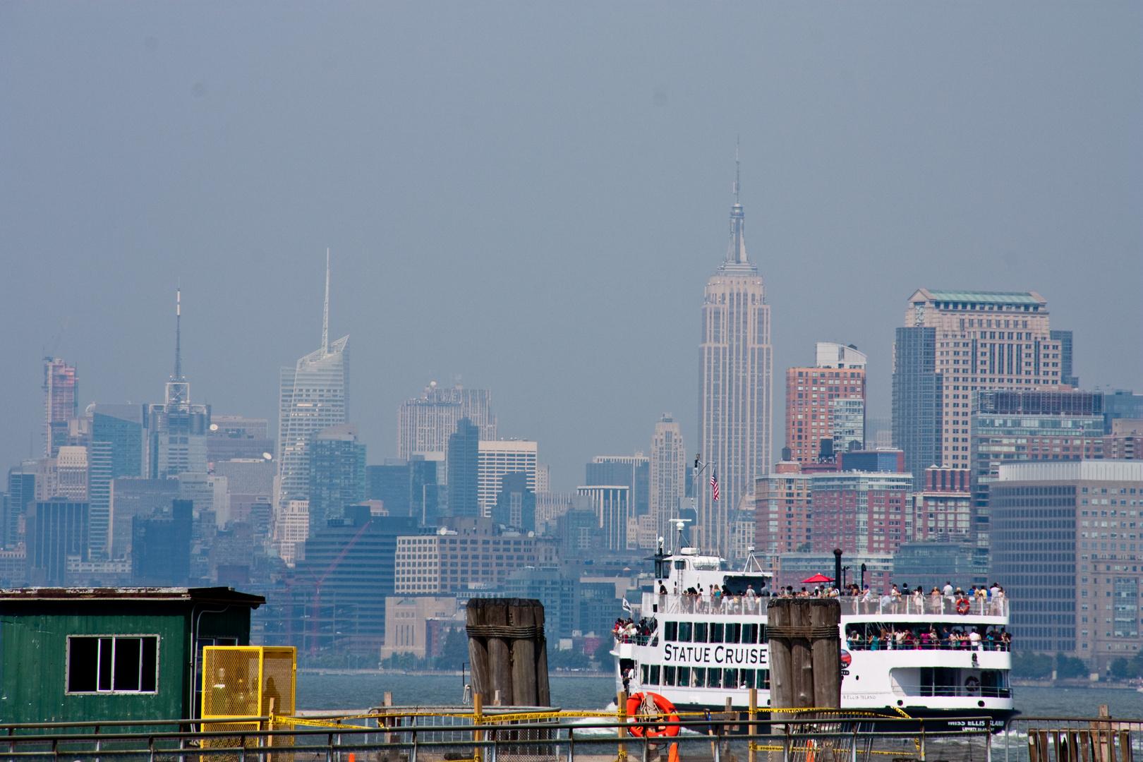 Auf dem Weg nach Manhattan