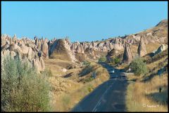 Auf dem Weg nach Ürgüp in Kapadokien