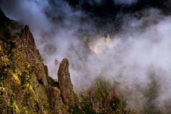 Auf dem Weg vom Pico do Ariero zum Pico do Ruivo...