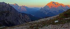 """Auf dem Weg zu den 3 Zinnen und weiteren """"Großen Bergen"""" in den Dolomiten..."""