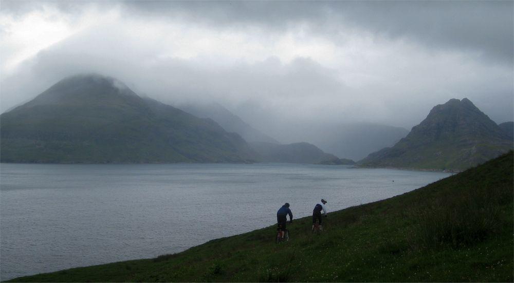 Auf dem Weg zu den Cuillin Hills (Insel Skye, Schottland)