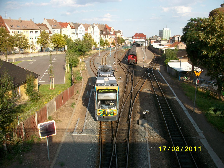 Auf dem Weg zum Bahnhofsplatz