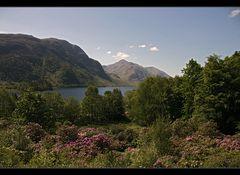 Auf dem Weg zur Isle of Skye....