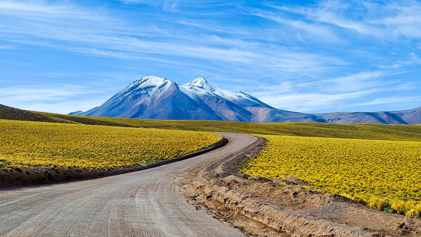 Auf dem Weg zur Luagune Miscanti
