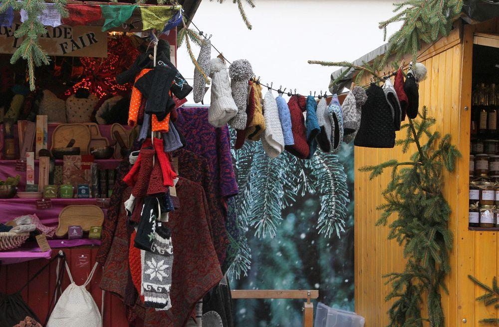 Auf dem Weihnachtsmarkt.....