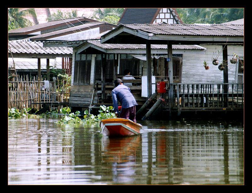 auf den Klongs von Thonburi