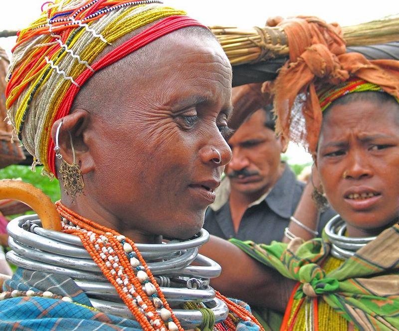 Auf den Markt von Unkudelli Orissa