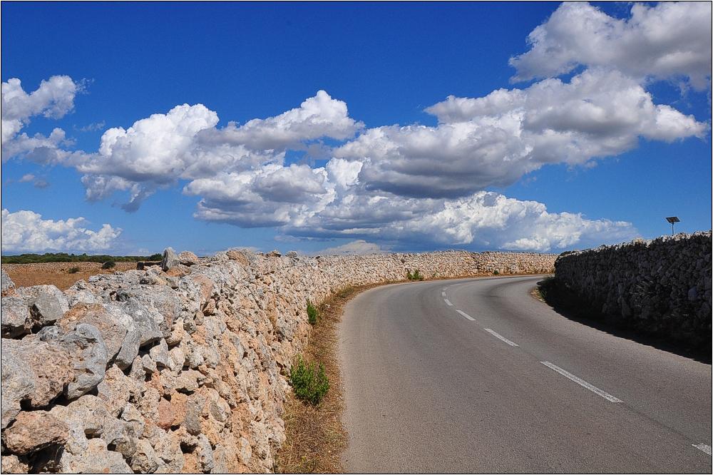 Auf den Straßen von Menorca