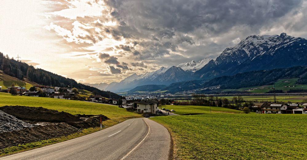 Auf den Weg nach Itter Tirol