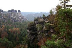 Auf der Bastei/Sächsische Schweitz