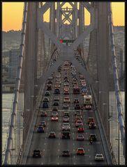 Auf der Bay Bridge