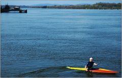 ... auf der blauen Donau ...