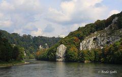Auf der Donau in Richtung Kelheim