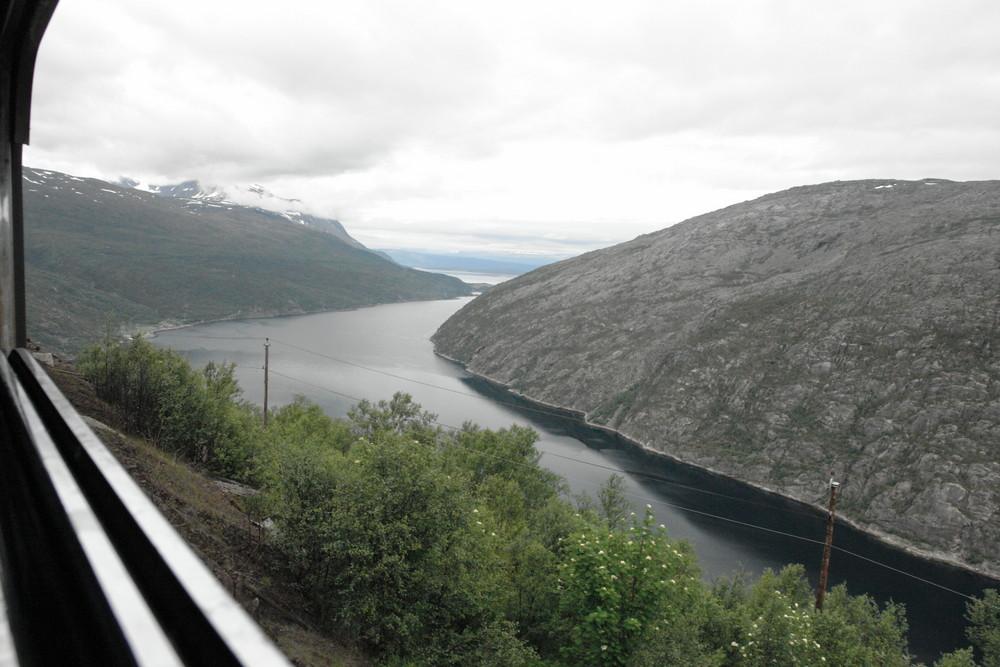 Auf der Erzbahn-Trasse Narvik-Kiruna (1.)