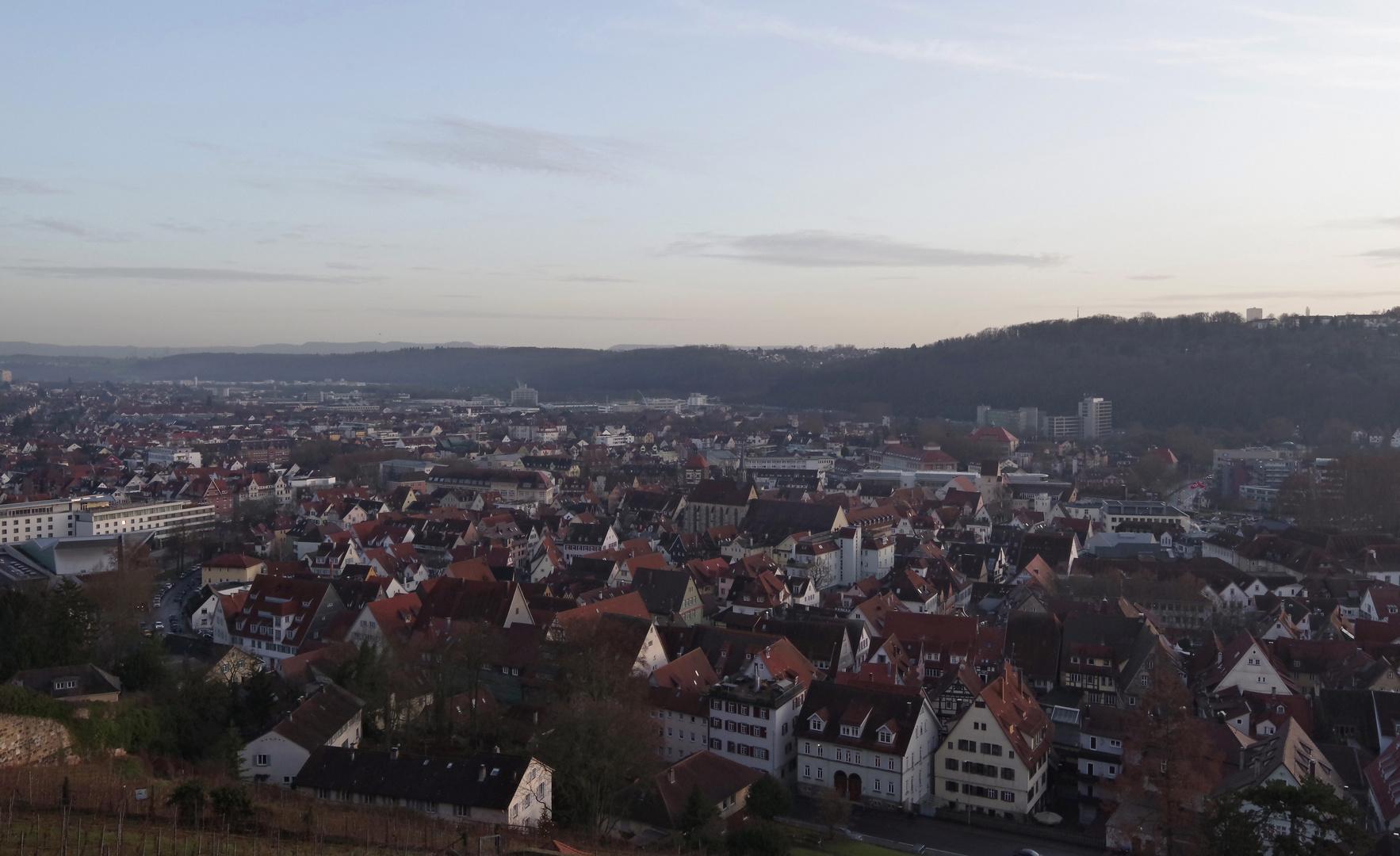 ...auf der Esslinger Burg