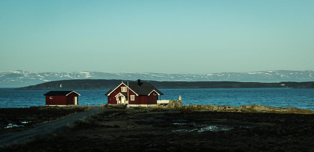 Auf der fahrt zu Nordkapp