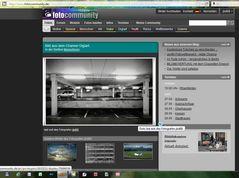 auf der fc Startseite am 25.09.2011